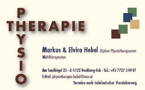 Physiotherapie Hebel