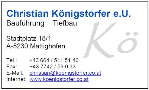 Christian Königstorfer e.U.